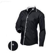 Pánska košeľa Victorio - Čierna
