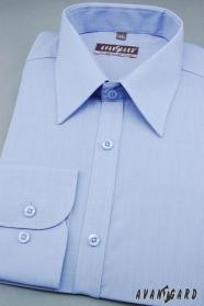 Pánska košeľa stredne modrá