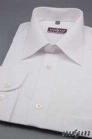 Pánska košeľa  dlhý rukáv - Biela