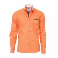 Pánska košeľa Pontto - Oranžová