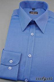 Pánska košeľa SLIM - Modrá