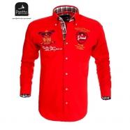 Červená športová košeľa Pontto