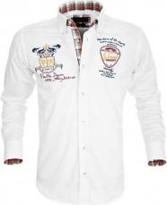 Biela športová košeľa Pontto