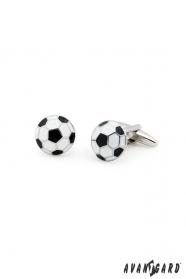 Futbalové manžetové gombíky Lopta