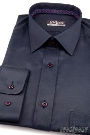 Tmavomodrá košeľa výpredaj
