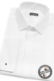 Pánska smokingová košeľa SLIM biela