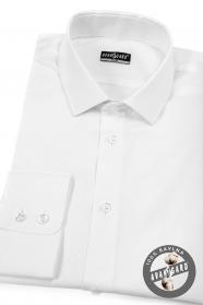 Pánska košeľa SLIM bavlnená biela