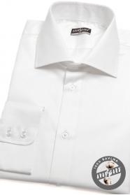 Pánska košeľa SLIM biela zo 100% bavlny