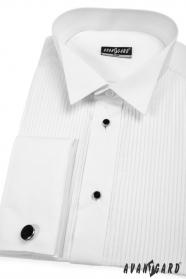 Pánska fraková košeľa SLIM so sadou gombíkov