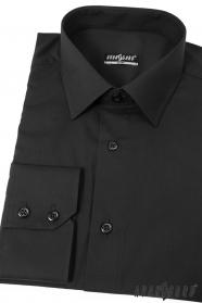 Pánska košeľa SLIM - Čierna