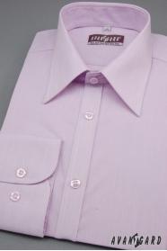 Pánska košeľa SLIM dlhý rukáv - farba Lila