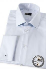 Pánska košeľa SLIM MG bavlnená svetlo modrá
