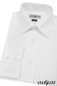 Pánska košeľa SLIM s dlhými rukávmi - Biela