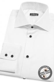 Pánska košeľa REGULAR s dlhým rukávom - Biela