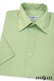 Pánska košeľa  krátky rukáv - V8-Zelená