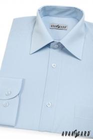 Pánska košeľa  dlhý rukáv - Svetlo modrá
