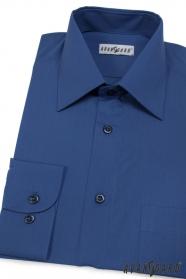 Pánska košeľa kráľovská modrá