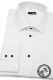 Biela pánska košela 100% bavlna