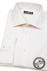 Pánska košeľa  smotanová 100% bavlna
