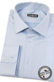 Svetlo modrá pánska košeľa s dlhým rukávom