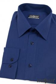Pánska košeľa  dlhý rukáv - Kráľovsky modrá