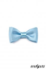Blankytne modrý chlapčenský motýlik