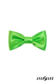 Výrazný zelený chlapčenský motýlik