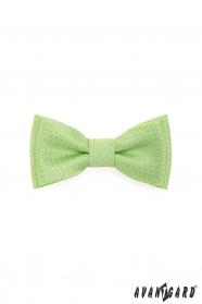 Motýlik MINI svetlo zelený štruktúrovaný