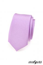 Svetlo fialová kravata Slim
