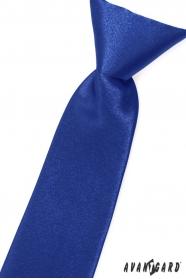 Sýto modrá chlapčenská kravata