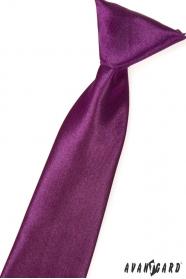 Chlapčenská kravata Aubergine