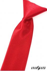 Chlapčenská kravata červená