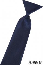 Detská kravata tmavomodrá
