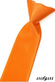 Oranžová chlapčenská kravata