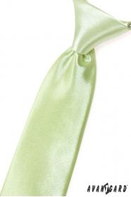 Limetkovo zelená chlapčenská kravata