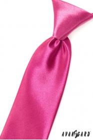 Fuchsiová chlapčenská kravata