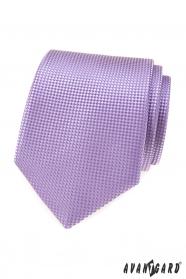 Pánska kravata vo farbe lila