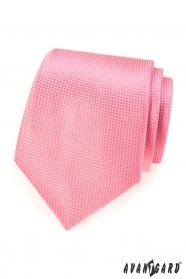 Ružová kravata pre mužov