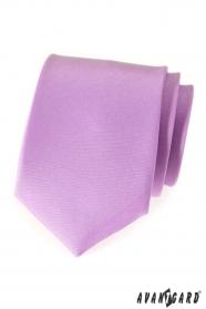 Kravata jemne lila MAT