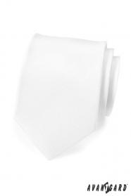 Biela, matná kravata