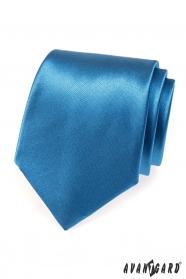 Lesklá kravata AVANTGARD modrá