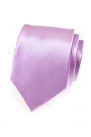 Svetlá kravata v lila odtieni