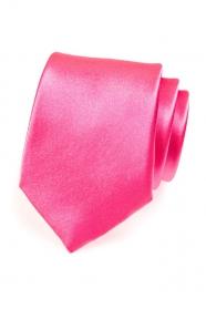 Kravata výrazná ružová