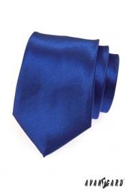 Pánska kravata výrazná kráľovská modrá