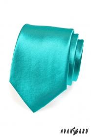 Tyrkysová kravata pro mužov