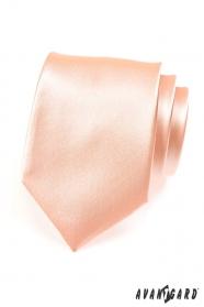 Pánska klasická kravata lososová