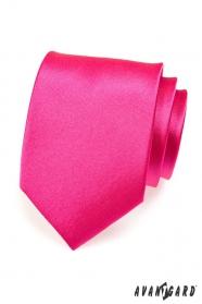 Pánska kravata ružová fuchsiová