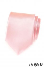 Pánska ružová kravata Pink