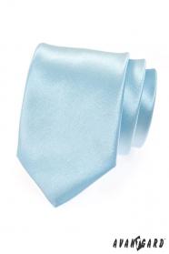Pánska kravata svetlo modrá lesk