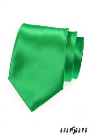 Sýto zelená pánska kravata